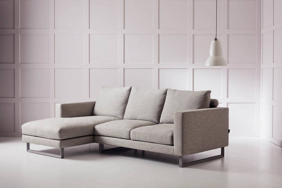 Elegant Corner Couch With Chaise Hector Chaise Corner Sofa Love Your Home Notonthehighstreet