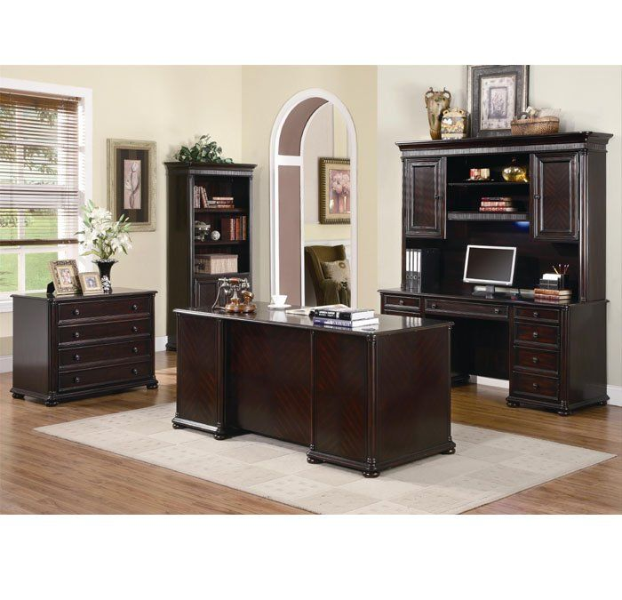 Elegant Dark Wood Desks For Home Office 29 Best Home Office Design Images On Pinterest Office Designs
