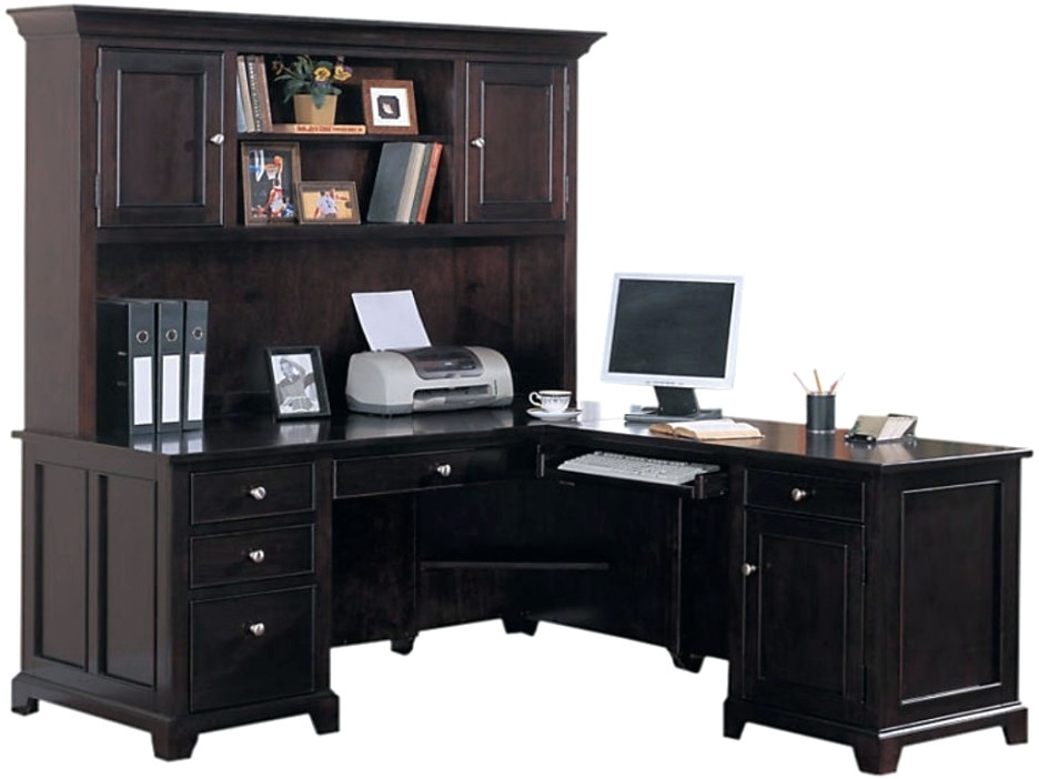 Elegant Dark Wood Office Desk Desk Dark Wood Home Office Desk Home Office Furniture Wood