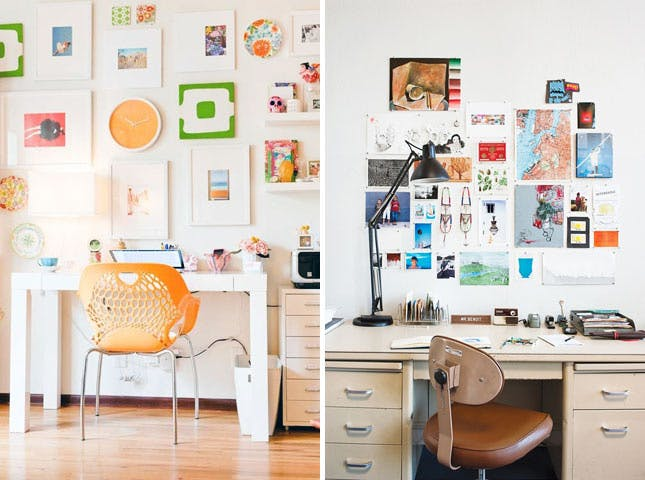 Elegant Desk Workspace Ideas 30 Ways To Keep Your Workspace Creative And Well Organized Brit Co