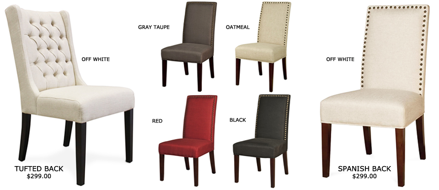 Elegant Dining Chair Styles Dining Chairs Old World Linen Upholstery Dining Chairs
