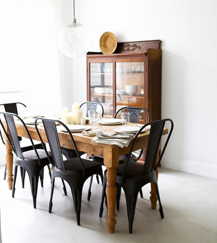 Elegant Dining Room Chairs Black And White Best 25 Black Metal Chairs Ideas On Pinterest Metal Dining