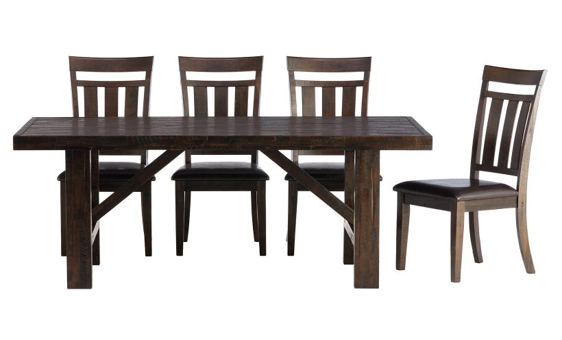 Elegant Dining Table And 4 Chairs Kona Grove Dining Table And 4 Chairs Schneidermans Furniture