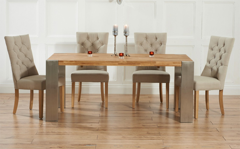 Elegant Dining Table And Chairs Pros Of Buying The Oak Dining Table Tcg