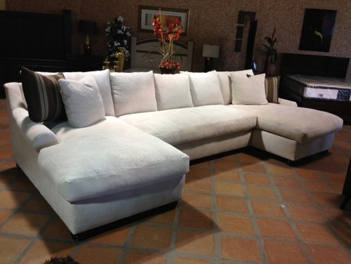 Elegant Double Chaise Lounge Sectional Sofa Double Chaise Sectional Yay Or Nay