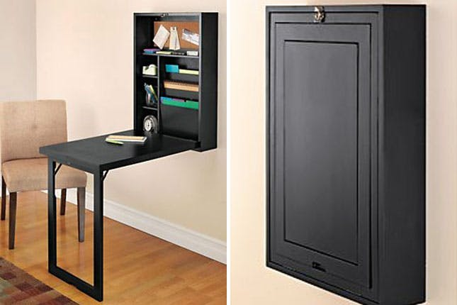 Elegant Fold Out Desk 17 Wall Mounted Desks To Make The Most Of Your Small Space Brit Co