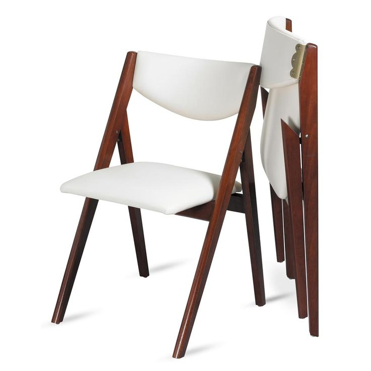 Elegant Folding Dining Chairs Oooh Look At This Modern Take On A Folding Dining Chair A Frame