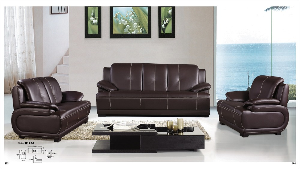 Elegant Genuine Leather Sofa Set Compare Prices On Leather Sectional Online Shoppingbuy Low Price