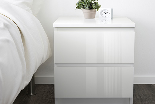Elegant Glass Bedside Table Ikea Bedside Tables Cabinets Ikea