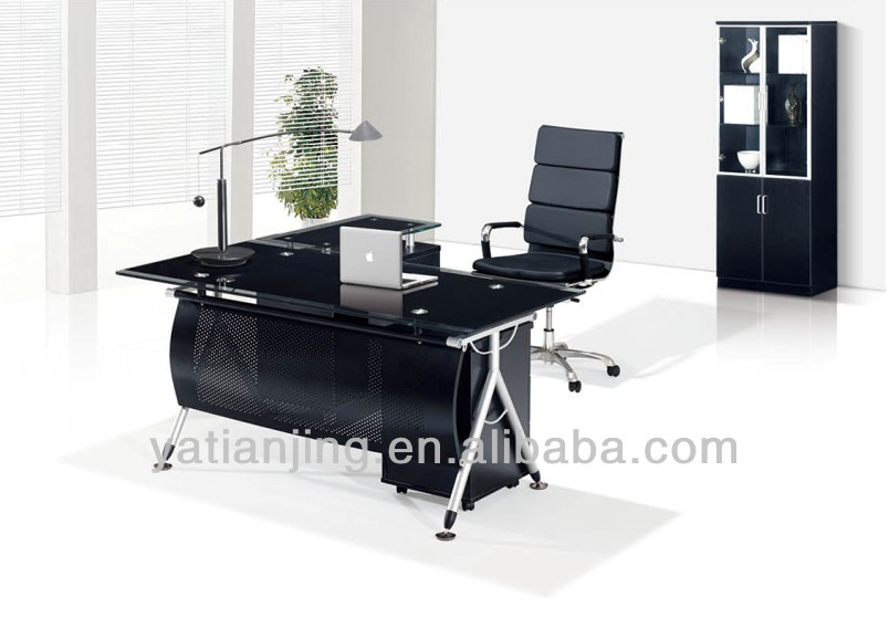 Glass top office table Black Glass Elegant Glass Office Table Design Modern Glass Top Office Table Design Buy Modern Glass Top Office Doragoram Glass Office Table Design Bgfurnitureonline