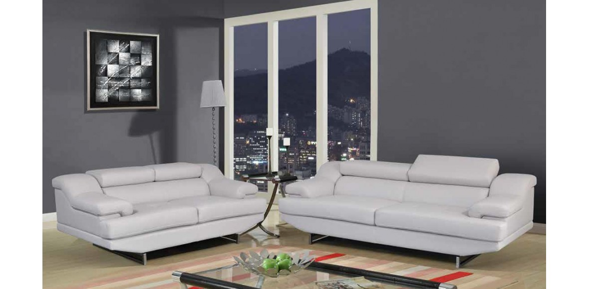 Elegant Gray Leather Sofa And Loveseat Sofa Design Ideas Easy Street Reclining Sofas And Loveseats