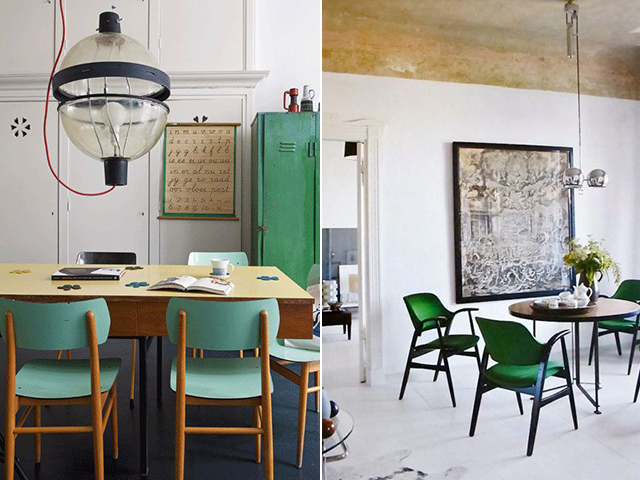 Elegant Green Dining Chairs Green With Chair Envy