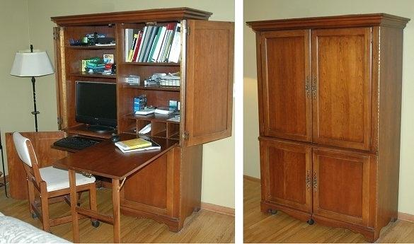 Elegant Home Office Armoire Home Office Armoire Perfectgreenlawn