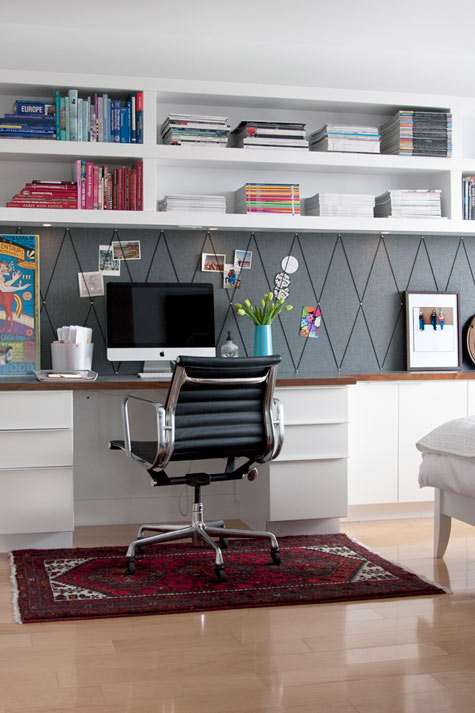 Elegant Home Office Shelving Impressive Shelves For Home Office Remodelaholic Get This Look