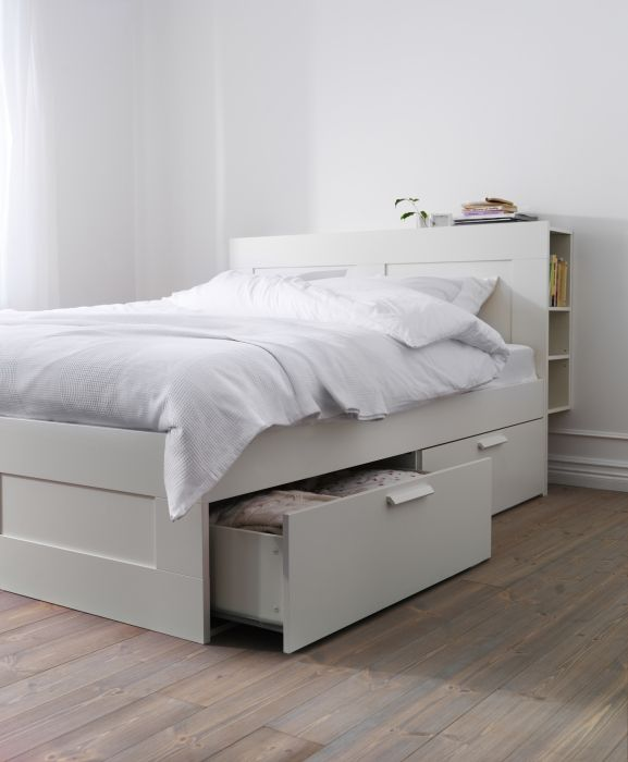 Elegant Ikea Double Bed With Storage Drawers Best 25 Ideas On Pinterest