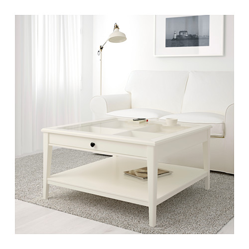 Elegant Ikea End Tables With Drawers Liatorp Coffee Table Whiteglass Ikea