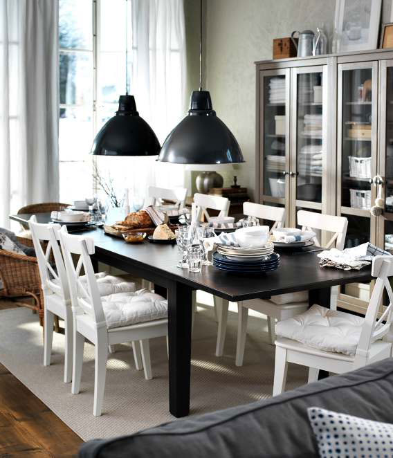 Elegant Ikea Round Dining Room Table Neat For Oval