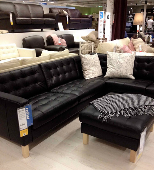 Elegant Ikea Sofa Set Leather New Ikea Leather Sofas Collection Trends 2014 Home Decor Trends
