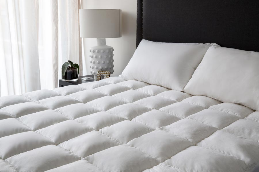 Elegant King Bed Mattress Pad Hotel Mattress Toppers Bed Toppers Designed For The