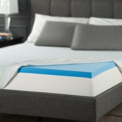 Elegant King Foam Mattress Topper Zinus 2 Inch Gel Memory Foam Mattress Topper King 8954 Picclick