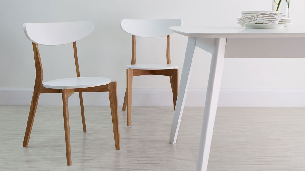 Elegant Kitchen Chairs Only White Oak Kitchen Chairs Painted Wood Only 45 Uk