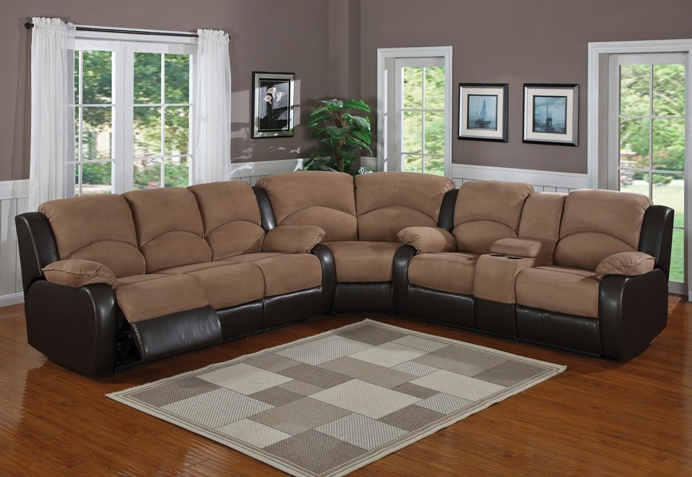 Elegant L Shaped Sectional Sofa With Recliner Sectional Sofa Recliners Microfiber Recliner Sofas With