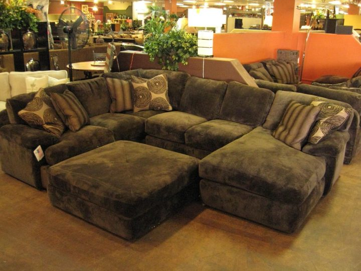 Elegant Large Sectional Sofa With Ottoman Living Room Oversized Sectional Sofa With Chaise Has One Of The