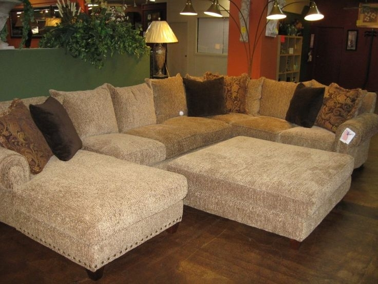 Elegant Large Sectional Sofa With Ottoman Living Room The 25 Best Oversized Sectional Sofa Ideas On Large
