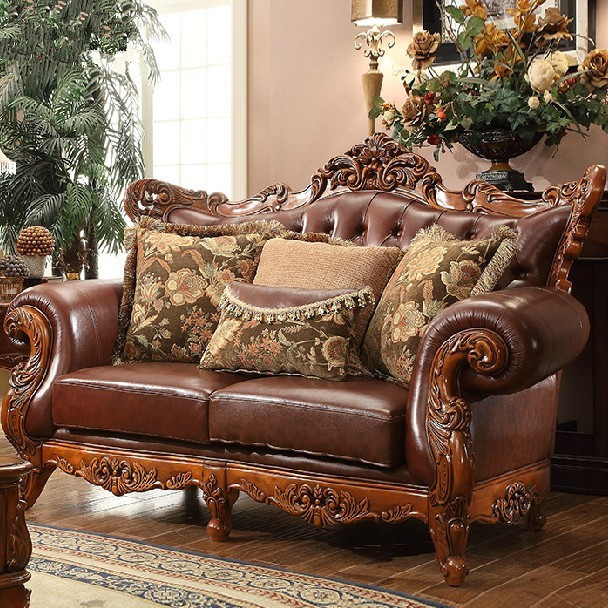 Elegant Leather And Wood Living Room Sets Stylish Leather And Wood Sofa 8104 Simmons Vintage Sofa Living