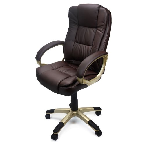 Elegant Leather Computer Chair Xtremepowerus Pu Leather Executive Office Desk Task Computer Chair