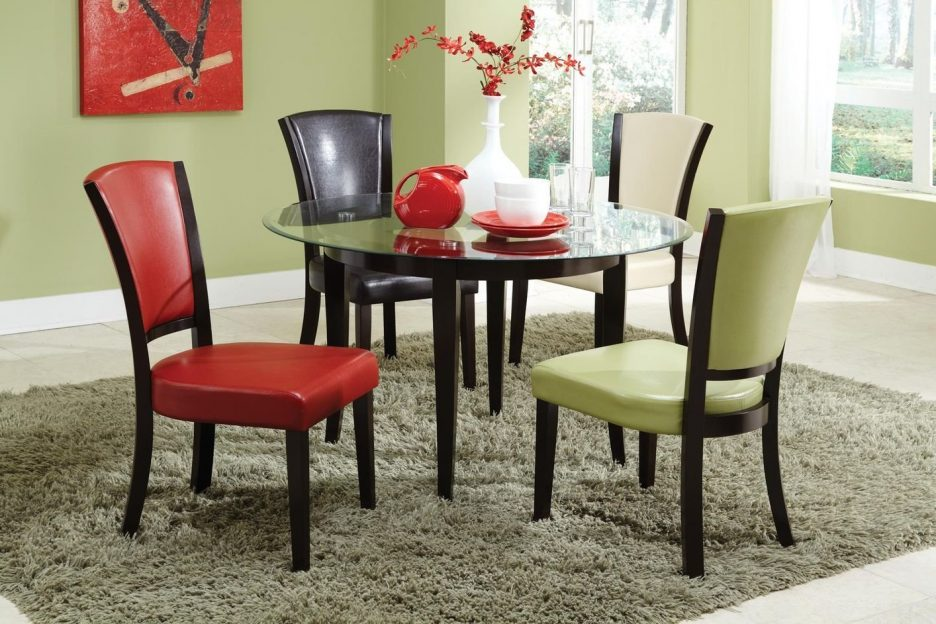Elegant Leather Dining Chairs Set Of 4 Kitchen Design Magnificent Kitchen Chairs Dining Chairs Set Of 4
