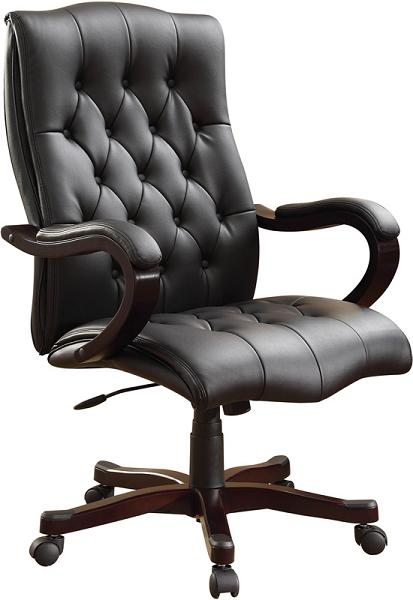 Elegant Leather Executive Chair Leather Executive Chairs Executive Office Furniture High Back