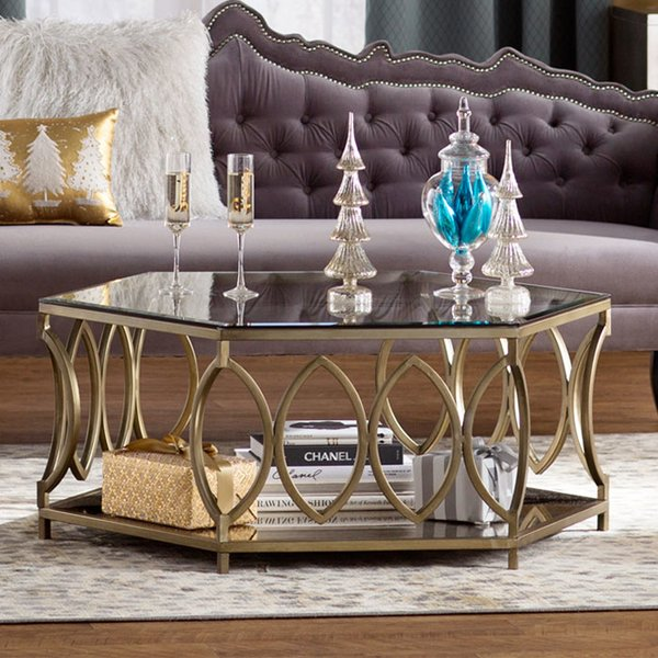 Elegant Living Room Furniture Tables Coffee Tables Youll Love Wayfair