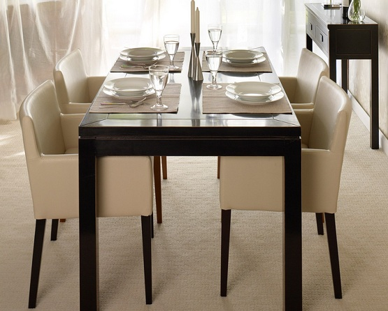 Elegant Low Back Dining Chairs Oriental Leather Low Back Dining Chairs Home Interiors