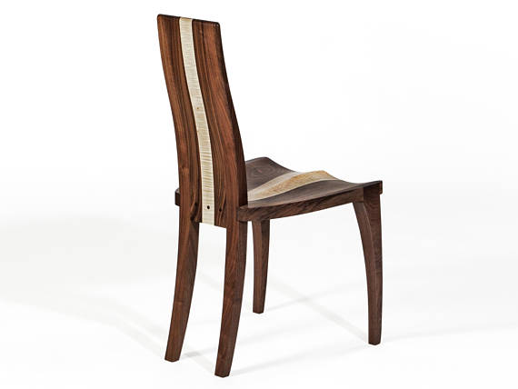 Elegant Maple Dining Chairs Dining Chair Modern Solid Walnut Wood Handmade Carved