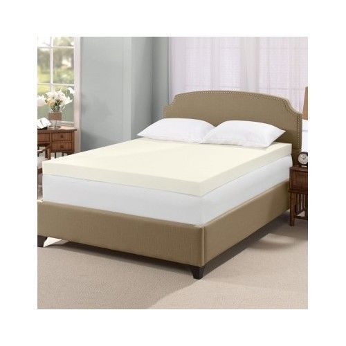 Elegant Memory Foam Mattress Topper Queen 4 Inch Memory Foam Mattress Topper Serta Visco Queen Size Sleep