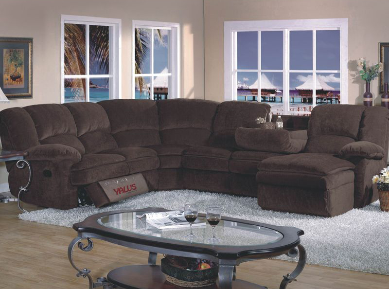 Elegant Microfiber Reclining Sectional With Chaise Sofa Beds Design Marvellous Traditional Reclining Sectional Sofas