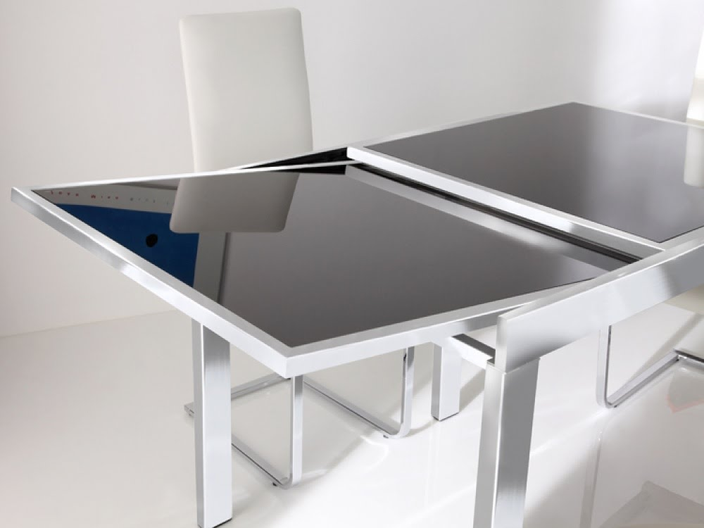 Elegant Modern Extendable Dining Table Awesome Modern Extendable Dining Table Modern Extendable Dining