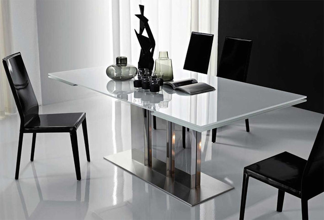 Elegant Modern Extendable Dining Table Plano Extendable Dining Table Cattelan Italia Modern Dining