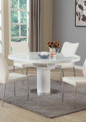Elegant Modern Round Extendable Dining Table Best 25 Round Extendable Dining Table Ideas On Pinterest Round