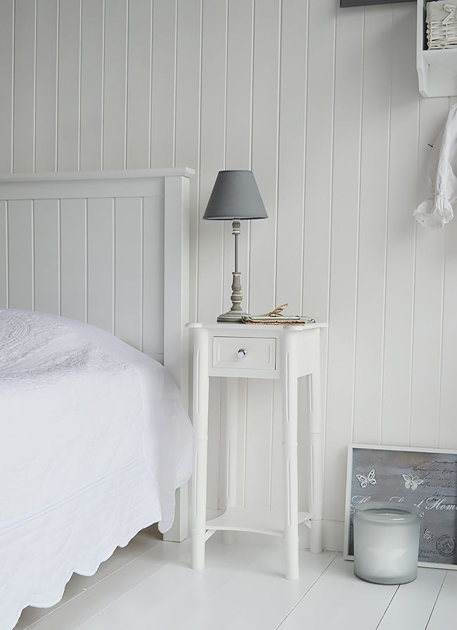 Elegant Nightstands For Tall Beds Best 25 Narrow Nightstand Ideas On Pinterest Small Bedside
