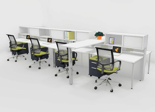 Elegant Office Desk Configurations 79 Best Open Office Workstations Images On Pinterest Office