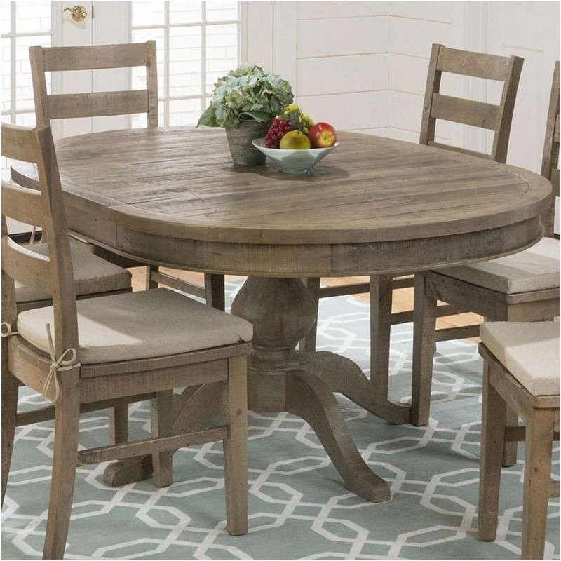 Elegant Oval Dining Table Jofran 941 Series Oval Dining Table In Slater Mill Pine 941 66t