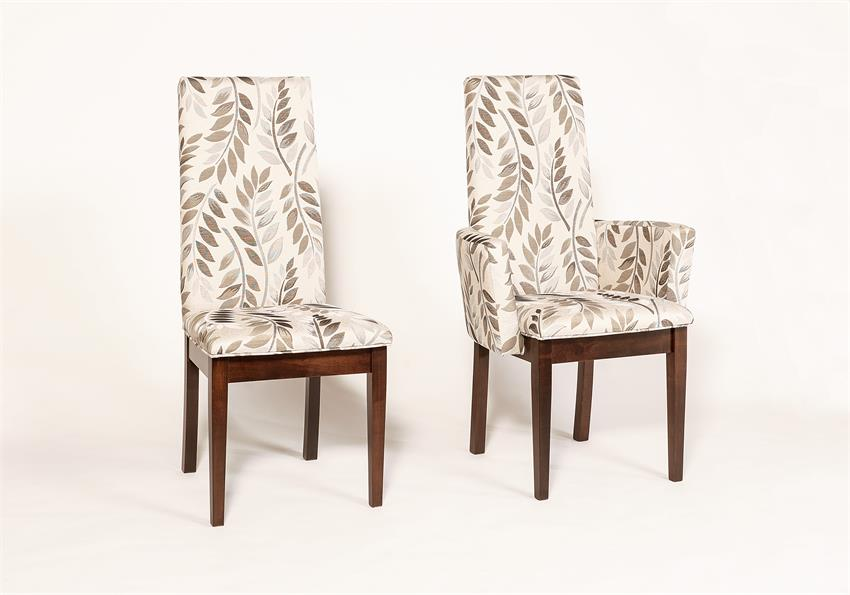 Elegant Parsons Dining Chairs With Arms Bradbury Upholstered Parsons Dining Chair From Dutchcrafters Amish