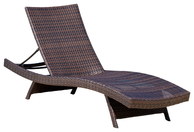 Elegant Patio Chaise Lounge Chair Lakeport Outdoor Lounge Chair Contemporary Outdoor Chaise