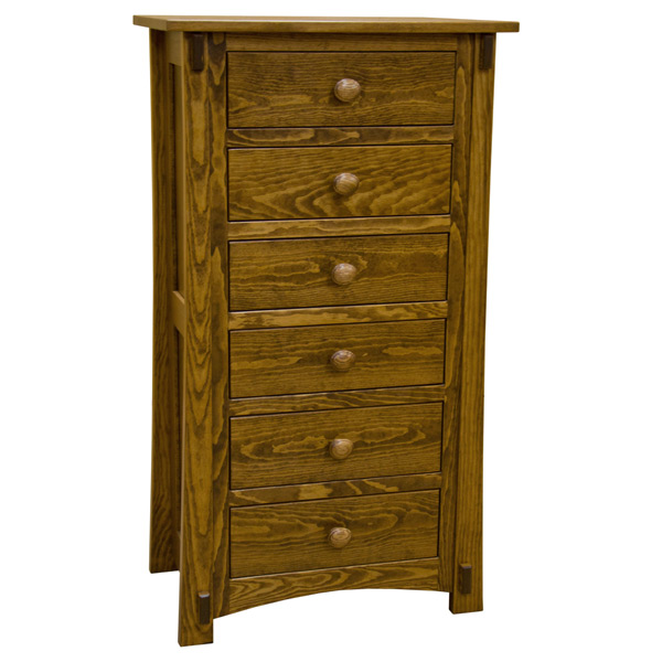 Elegant Pine 6 Drawer Dresser 24 Amish Craftsman Pine 6 Drawer Dresser Made In Usa