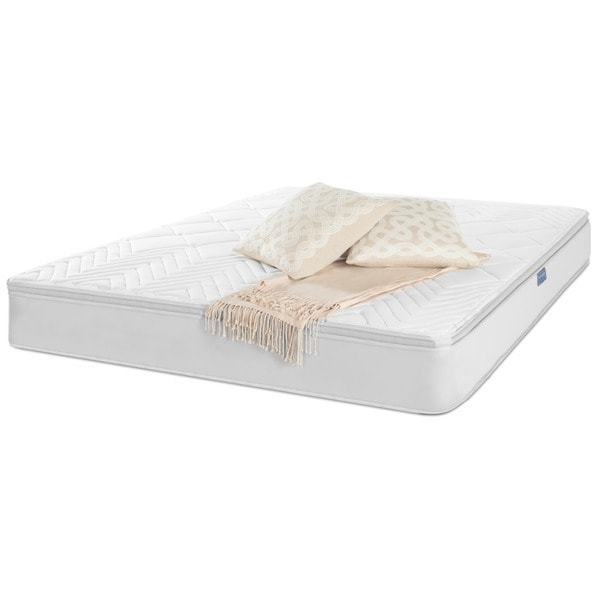 Elegant Queen Size Bed In A Box Safavieh Nirvana 10 Inch Euro Pillow Top Spring Queen Size