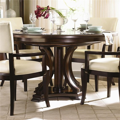 Elegant Round Dining Room Table With Leaf Collection In Dining Room Tables With Leaves With Westwood Round