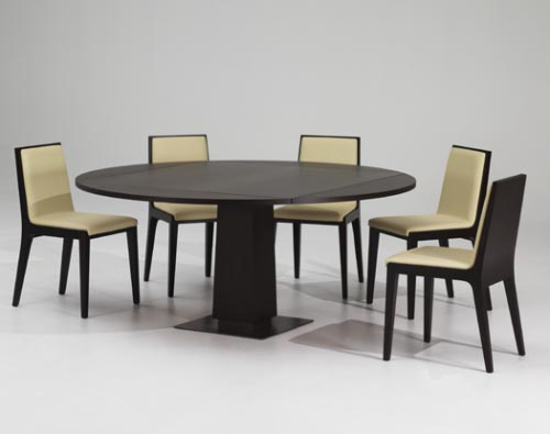 Elegant Round Dining Table Modern Design Architecture And Home Design Modern Round Dining Table