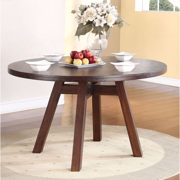 Elegant Round Solid Wood Dining Table Solid Wood Modern Solid Wood Round Dining Table Free Shipping